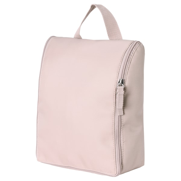 TROLLFJORDEN Toiletry bag, pale pink