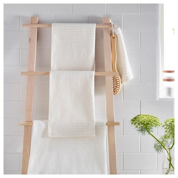 VÅGSJÖN Hand towel, white, 40x70 cm