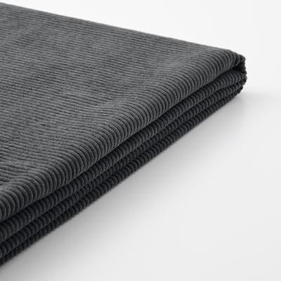 VALLENTUNA غطاء مسند الظهر, Kelinge فحمي, 80x80 سم