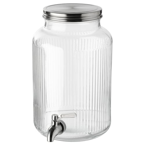 VARDAGEN jar with tap 23 cm 29 cm 5.0 l 18 cm