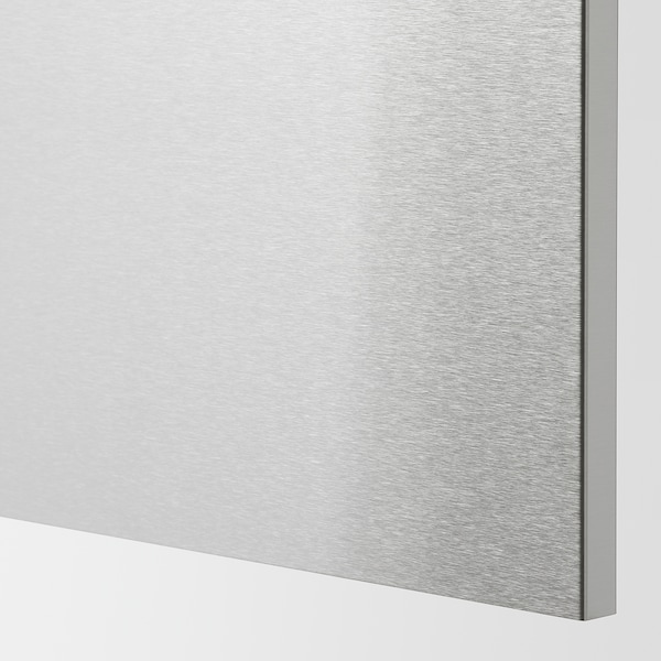 VÅRSTA Cover panel, stainless steel, 62x80 cm
