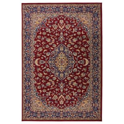 VEDBÄK Rug, low pile, multicolour, 133x195 cm