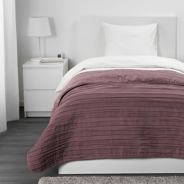 VEKETÅG غطاء سرير, بنفسجي, 160x250 سم
