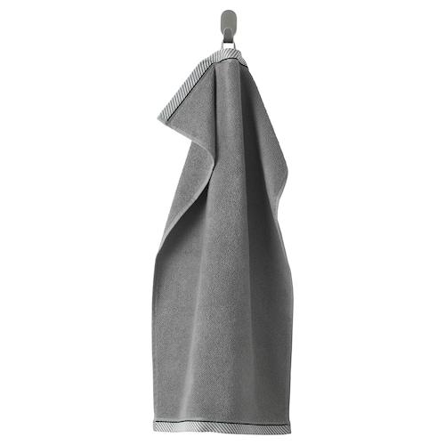 VIKFJÄRD hand towel grey 70 cm 40 cm 0.28 m² 475 g/m²