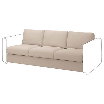 VIMLE 3-seat section, Hallarp beige
