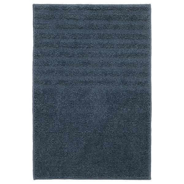 VINNFAR دعّاسة للحمّام, أزرق غامق, 40x60 سم