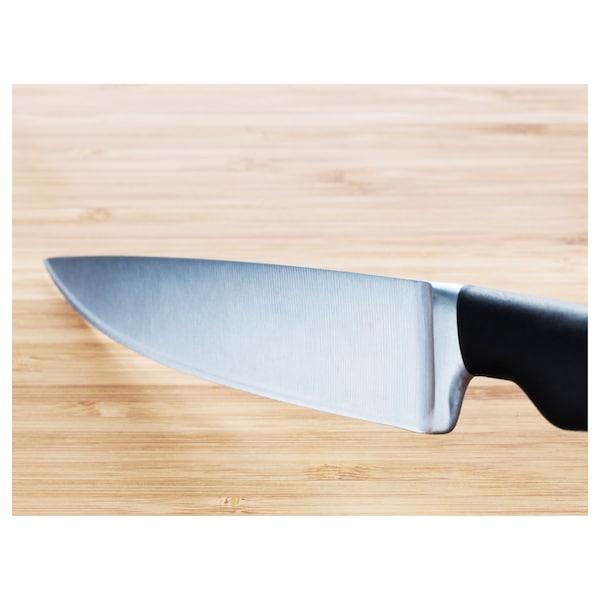 VÖRDA Utility knife, black, 14 cm