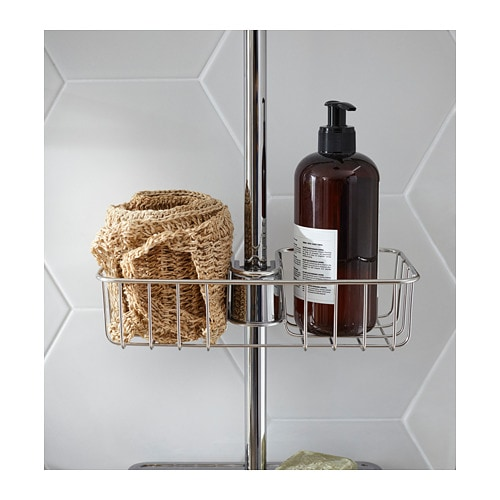VOXNAN Shower shelf   3 year guarantee.   Read about the terms in the guarantee brochure.