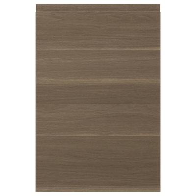 VOXTORP باب, شكل خشب الجوز, 40x60 سم