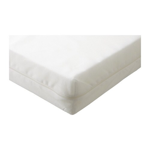 Ikea Kinderbett Was Mitwächst ~ VYSSA SLAPPNA Mattress for extendable bed The cover can be machine