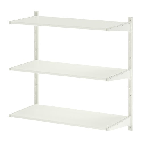 ALGOT Wall upright/shelves IKEA The parts in the ALGOT series can be combined in many different ways and so can easily be adapted to needs and space.