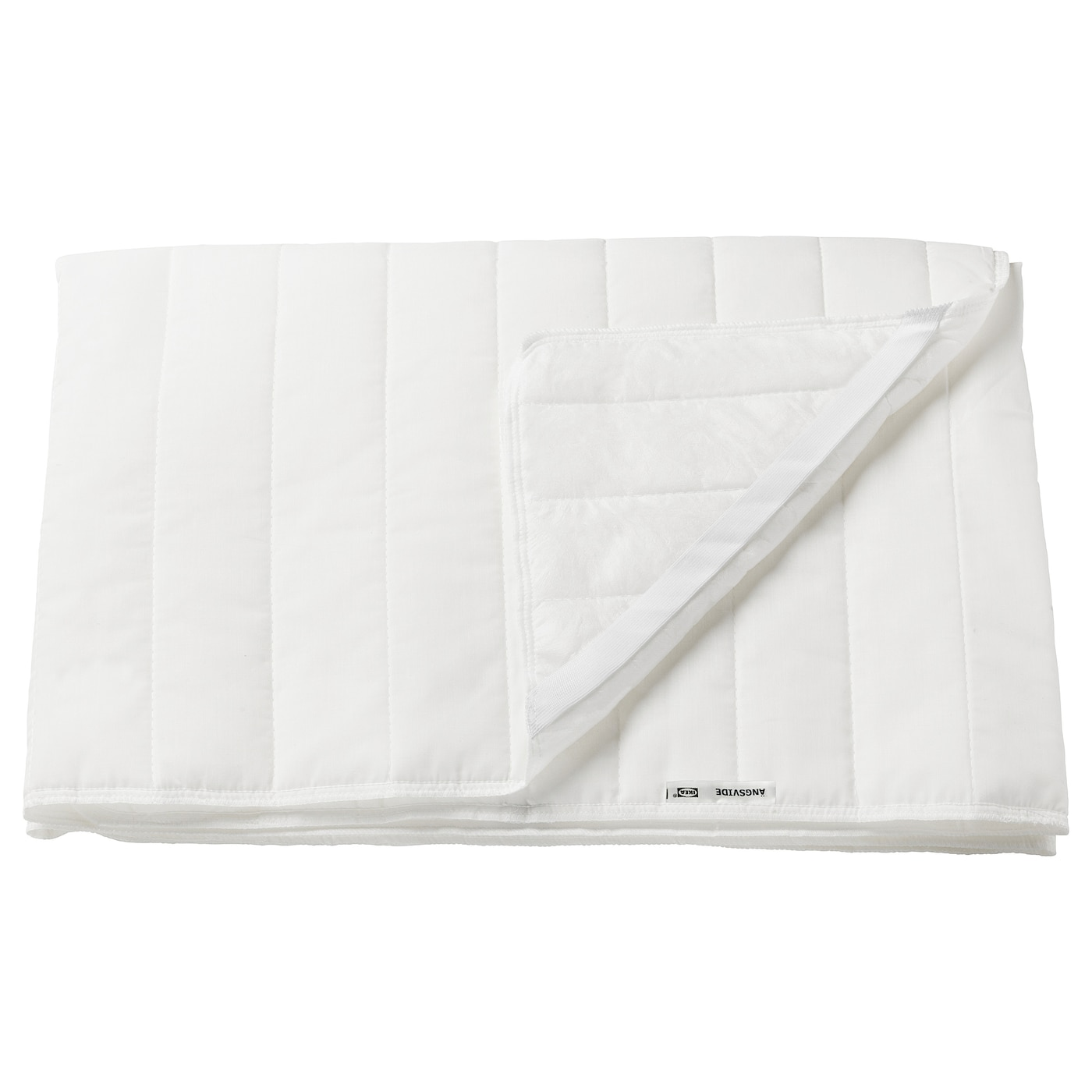 IKEA ANGSVIDE Cotton Blend Mattress Cover Protector Topper