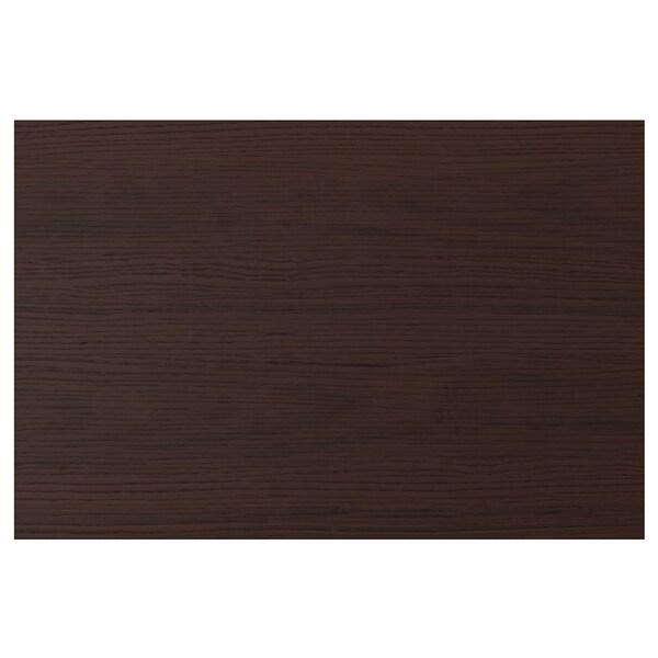 ASKERSUND Door, dark brown ash effect, 60x40 cm