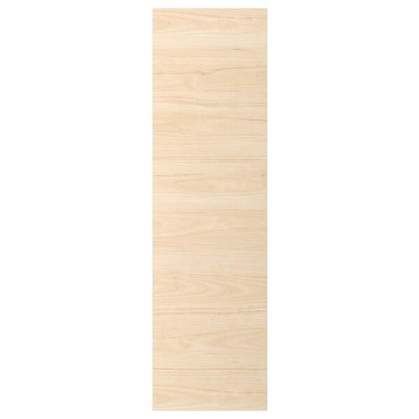 ASKERSUND Door, light ash effect, 40x140 cm