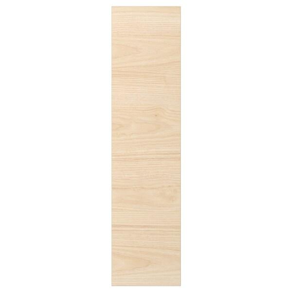 ASKERSUND Door, light ash effect, 15x80 cm