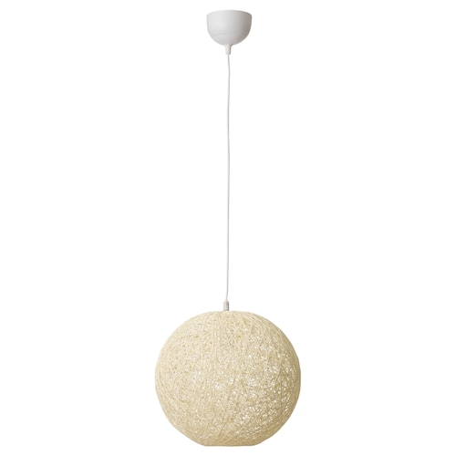BACKABO pendant lamp natural 13 W 30 cm 37 cm 1.2 m