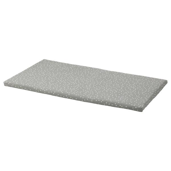 BÄNKKAMRAT Bench pad, dot pattern, 90x50x3 cm