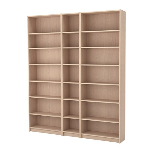 BILLY Bookcase W Height Extension Units