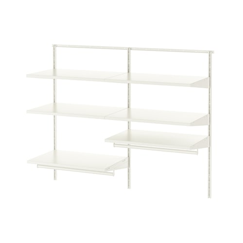 BOAXEL 2 sections white 122.0 cm 40.0 cm 100.6 cm