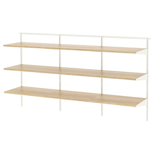 BOAXEL 3 sections white/oak 182.0 cm 40.0 cm 100.6 cm