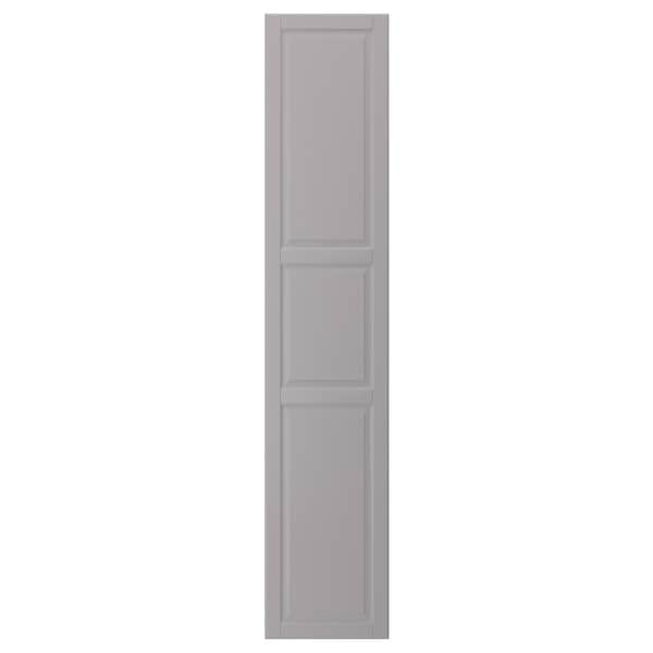 BODBYN Door, grey, 40x200 cm