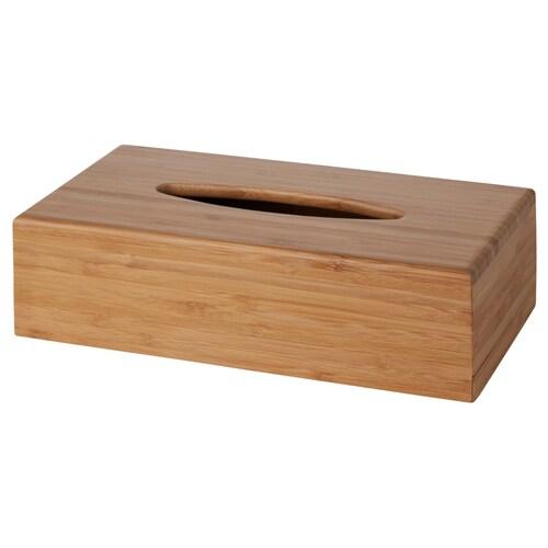 BONDLIAN box for tissues bamboo 26 cm 14 cm 7 cm