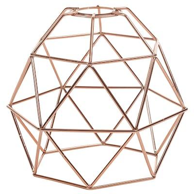 BRUNSTA Pendant lamp shade, copper-colour, 20 cm