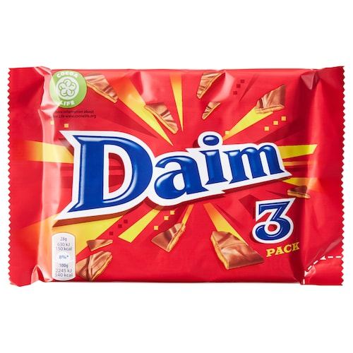 DAIM milk chocolate with caramel 84 g