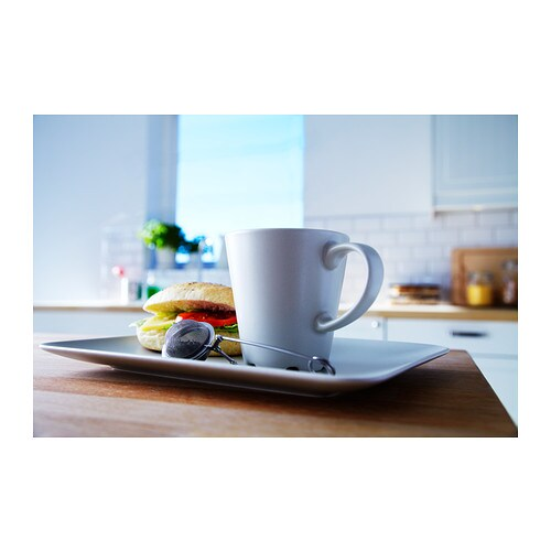 DINERA Mug IKEA With its simple shapes, muted colours and matt glaze, the dinnerware gives a rustic feel to your table setting.