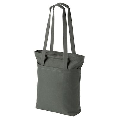 DRÖMSÄCK Tote bag, olive-green, 14 l