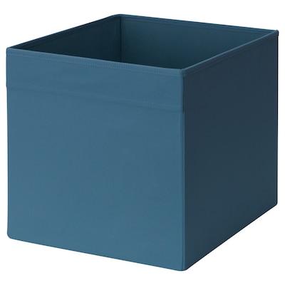 DRÖNA Box, dark blue, 33x38x33 cm