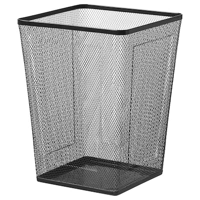 DRÖNJÖNS Wastepaper basket, black