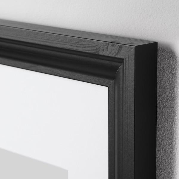 EDSBRUK Frame, black stained, 30x40 cm