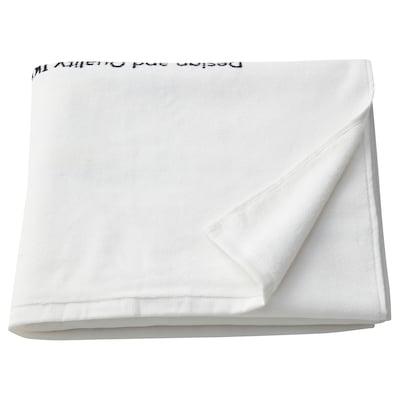 EFTERTRÄDA Bath towel, white, 70x140 cm