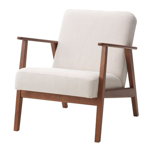 Eken 196 Set Armchair Nolhaga Light Beige Ikea