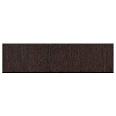 EKESTAD Drawer front, brown, 75x20 cm