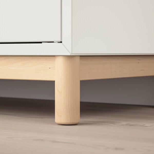 EKET cabinet combination with legs white 70 cm 35 cm 80 cm