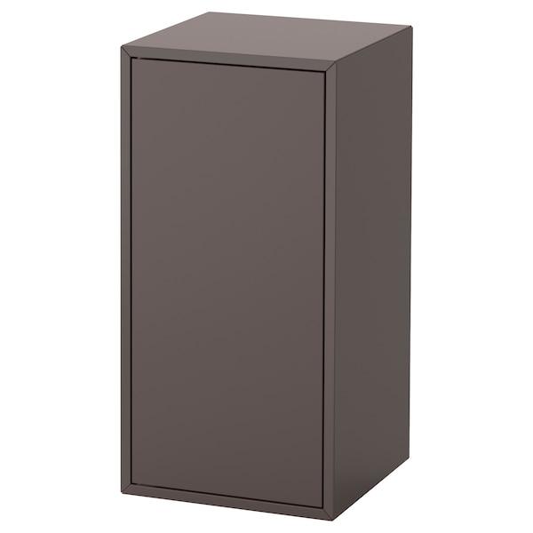 EKET cabinet w door and 1 shelf dark grey 35 cm 35 cm 70 cm 7 kg