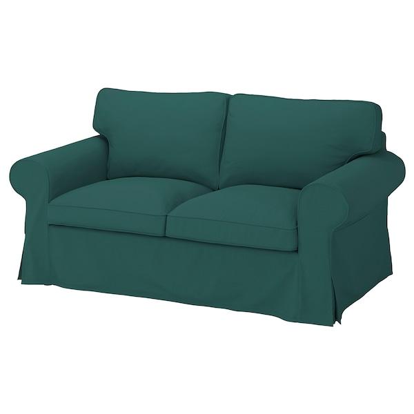 EKTORP Cover for 2-seat sofa, Totebo dark turquoise