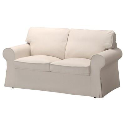 EKTORP Two-seat sofa, Lofallet beige