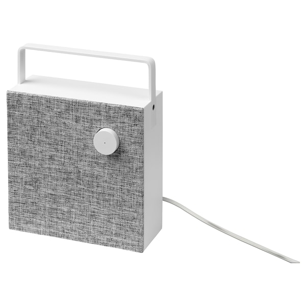 ENEBY Bluetooth speaker, white, 20x20 cm