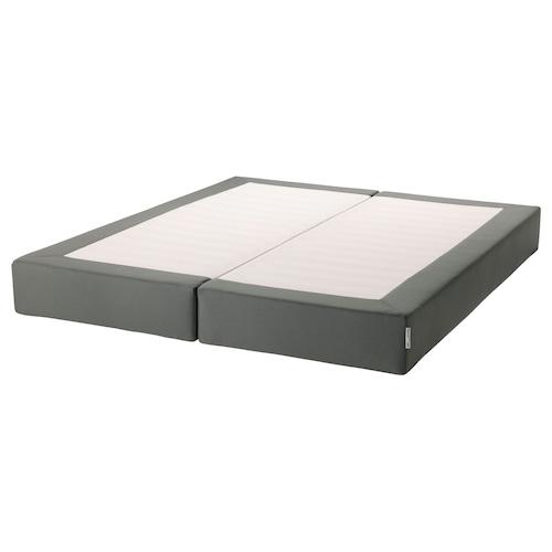 ESPEVÄR slatted mattress base dark grey 200 cm 160 cm 20 cm