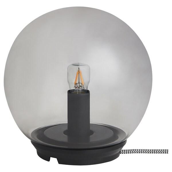 FADO Table lamp, grey, 17 cm