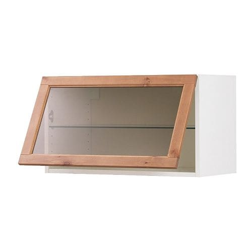 Ikea Horizontal Glass Cabinet ~  Kitchen cabinets & fronts  FAKTUM RATIONELL system Wall cabinets