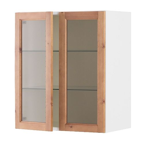 glass door wall cabinet ikea. Black Bedroom Furniture Sets. Home Design Ideas