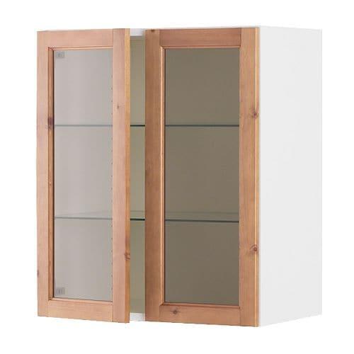 glass door wall cabinet ikea. Black Bedroom Furniture Sets. Home Design Ideas