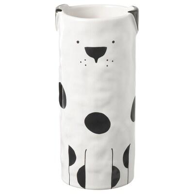 FÅTALIG Vase, dog off-white, 15 cm