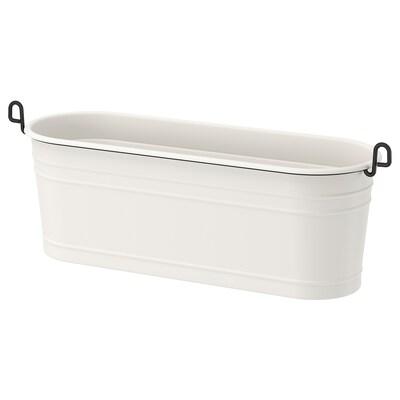 FINTORP Condiment stand, white/black, 37x13 cm