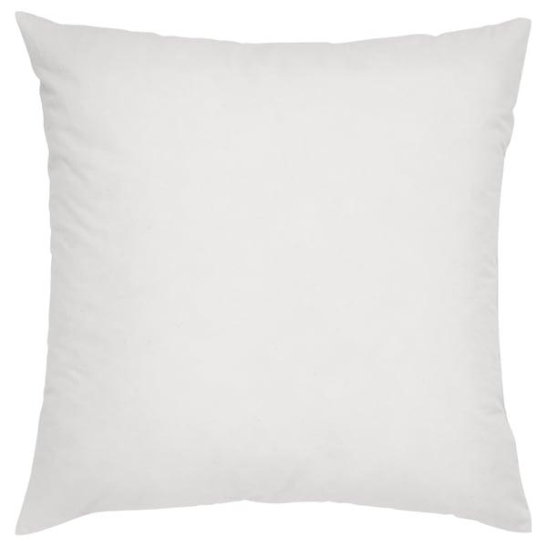 FJÄDRAR Cushion pad, off-white, 50x50 cm
