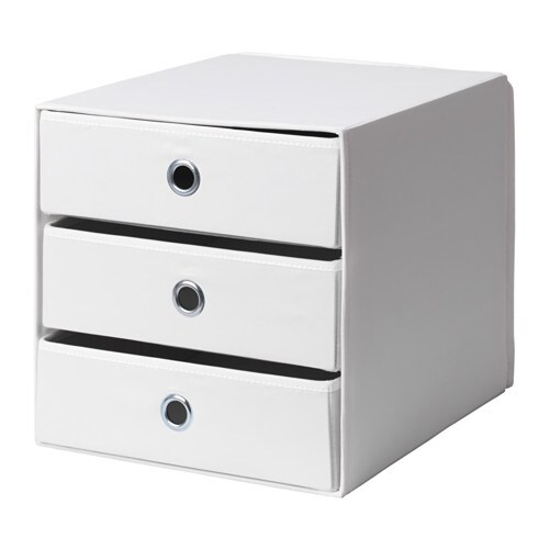 Flarra Mini Chest With 3 Drawers White Ikea